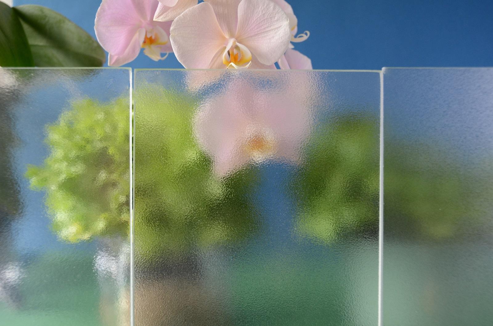 Diffuse Gläser gemischt