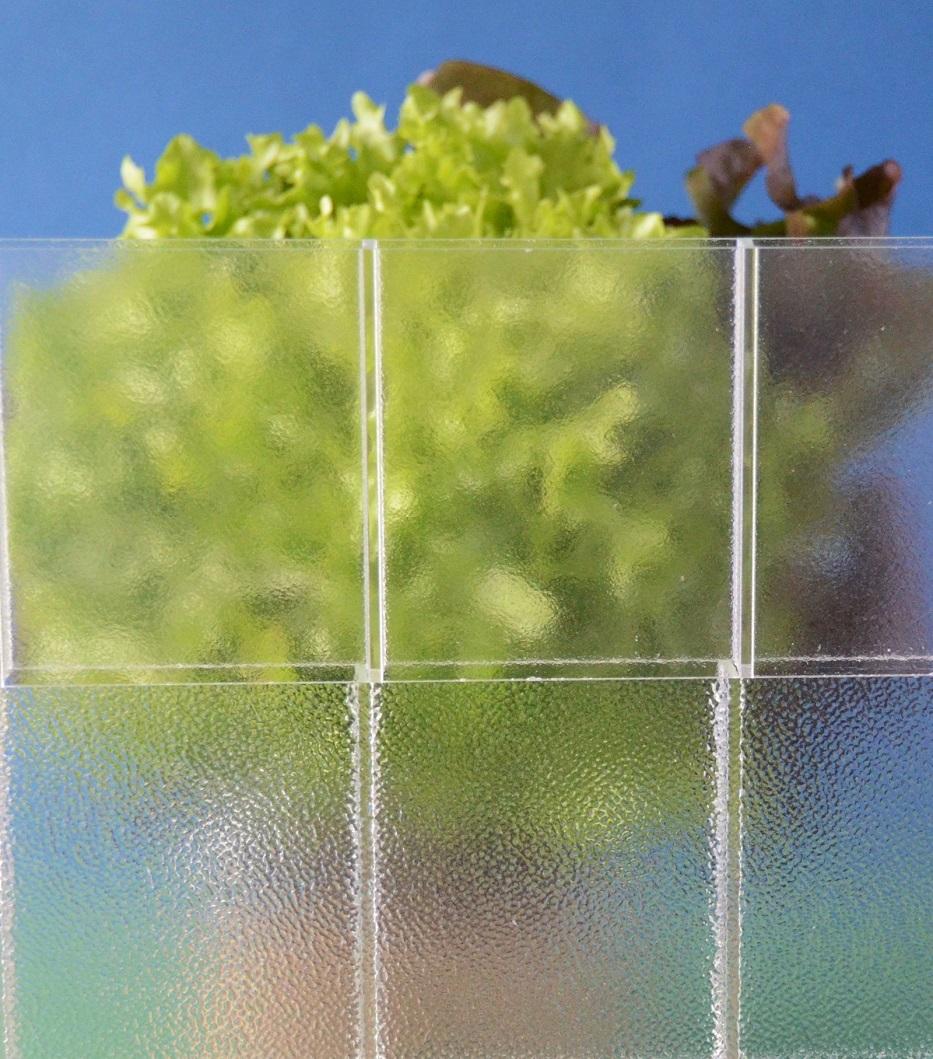 Plexiglas Doppelstegplatten diffus