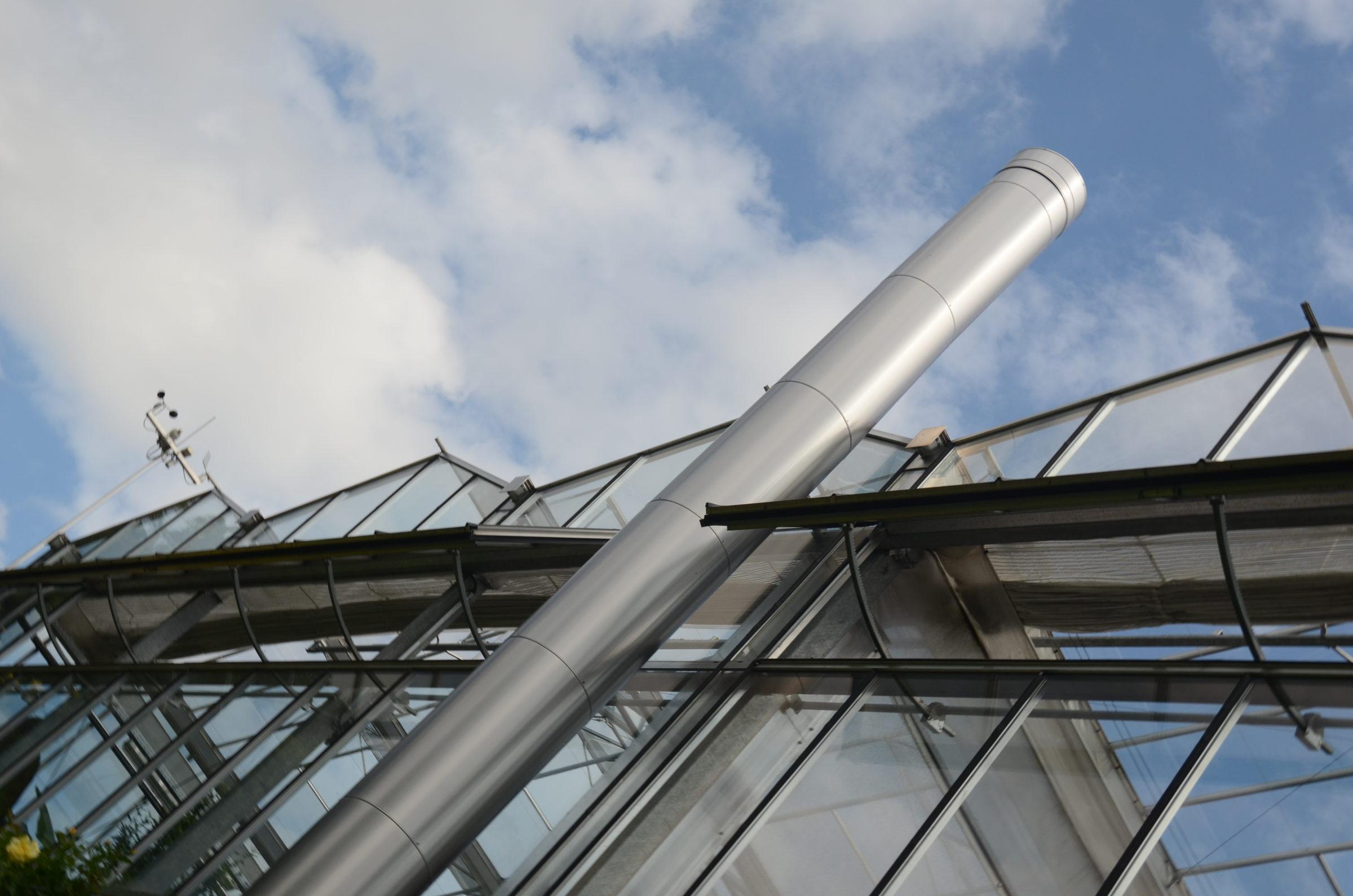 Klimatisierung von Gewächshäusern im Sommer